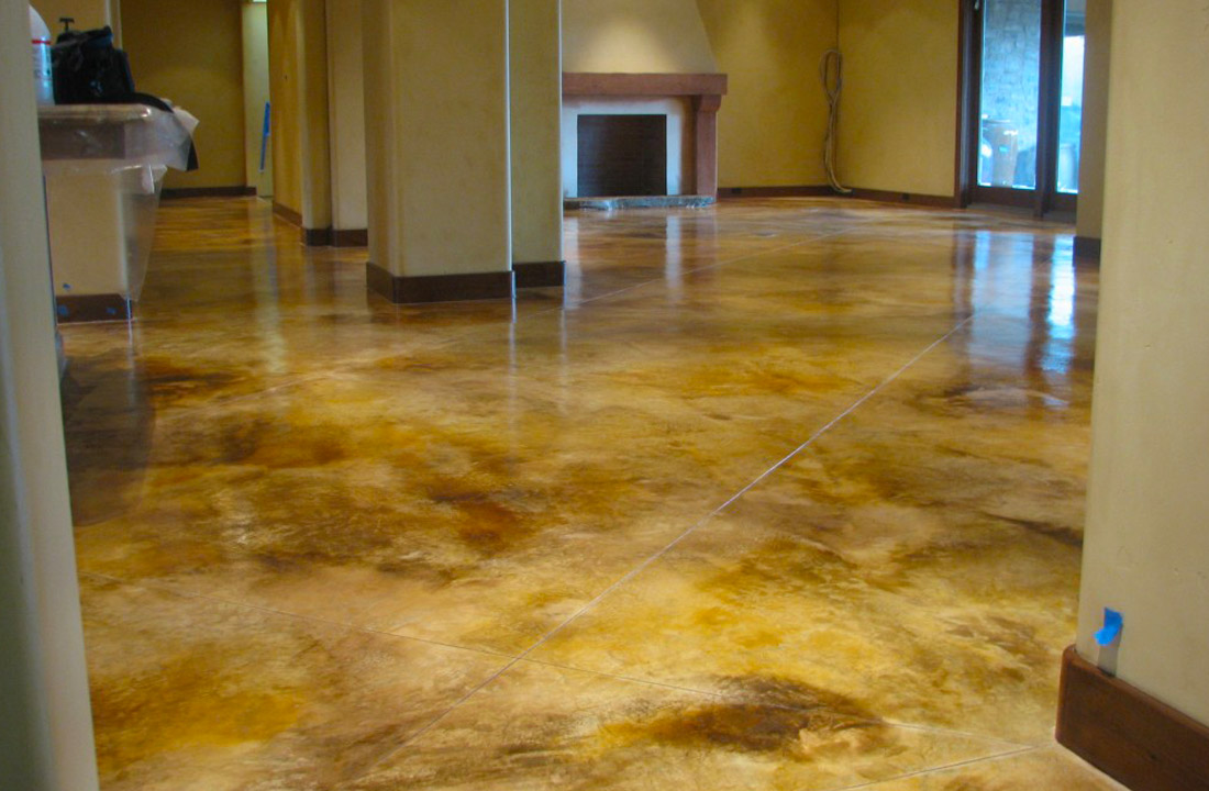 Innovative Ideas for Stained Concrete – Concrete Art and Design ...